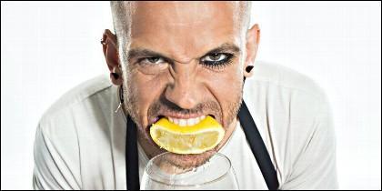 El chef Dabiz Muñoz dueño del restaurante Diverxo.
