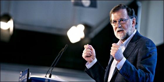 Mariano Rajoy, presidente del Gobienro y líder del PP.