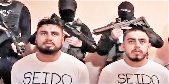 Agentes secuestrados