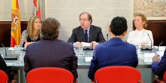 Reunión del pleno del Consejo Financiero de Castilla y León