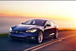 El coche eléctrico Tesla Model S 100D.