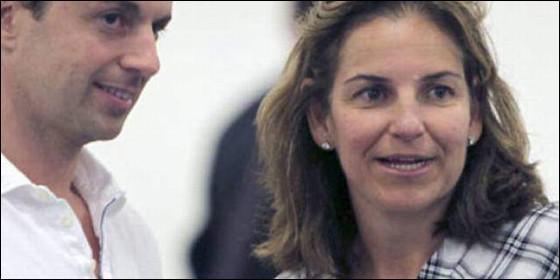Arantxa Sánchez Vicario y su ex