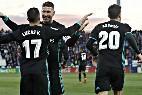 Lucas, Sergio Ramos y Asensio (REAL MADRID).
