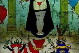 La polémica Virgen en tanga de Bolivia