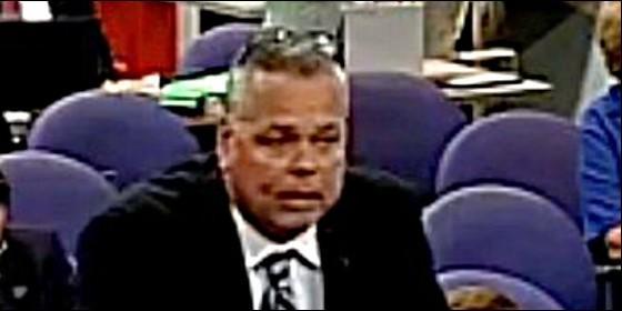 Scot Peterson, el guardia de seguridad de Parkland, Florida.