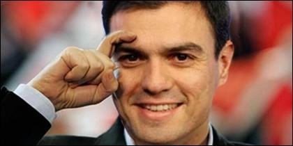 Pedro Sánchez retratándose en otros tiempos