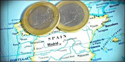 PIB, euro, regiones y riqueza en España.