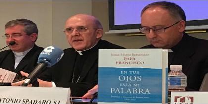 Fernando Prado, Carlos Osoro y Antonio Spadaro
