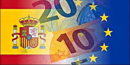 España, Europa, Unión Europe, Euro y Economía.