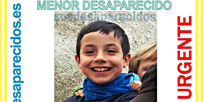 Gabriel Cruz tiene 8 años y desapareció en Níjar.