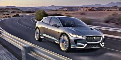 El Jaguar i-Pace, un coche eléctrico de lujo.