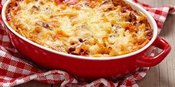 Receta de macarrones al horno con carne picada paso a paso periodista digital - Macarrones con verduras al horno ...
