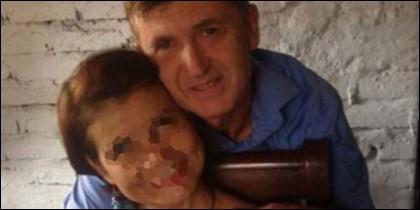 Jordi Magentí y su actual mujer, Nancy