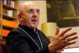 El cardenal de Madrid, Carlos Osoro