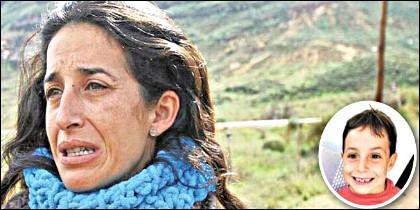 Patricia Ramírez, madre de Gabriel Cruz, desaparecido el 27 de febrero de 2018 en La Hortichuela.