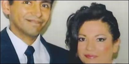 Rubén Valera Cornejo y su esposa