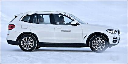 SUV iX3, el próximo coche eléctrico de BMW.