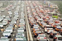 Tráfico, atascos, contaminación, polución atmosférica y ruido.