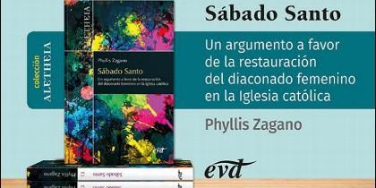'Sábado santo', nuevo libro de Phyllis Zagano en Verbo Divino