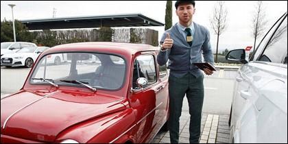 Sergio Ramos y su mini