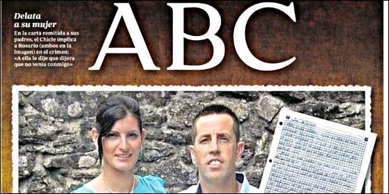 El Chicle y su mujer en la portada de 'ABC' del 10 de marzo de 2018.