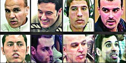 Los ocho terroristas del 11-M que siguen en la cárcel.