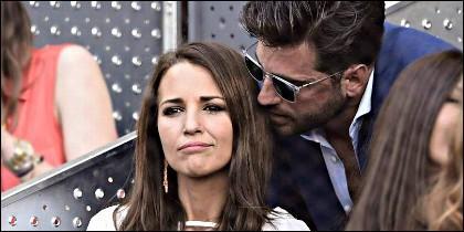 Paula Echevarría con David Bustamante.