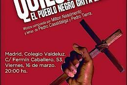 Misa de los Quilombos en Madrid