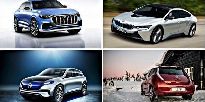 Nuevos coches eléctricos para 2018 y 2019.
