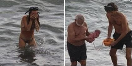 La turista rusa da a luz en el Mar Rojo.