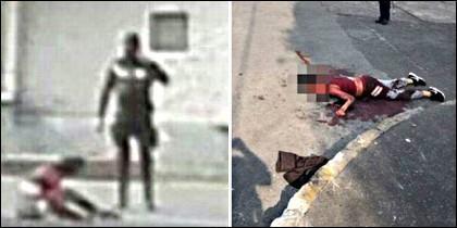 La ejecución de las niñas acusadas de narcotráfico por la policía de México.