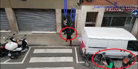 La agresión en la calle Japón