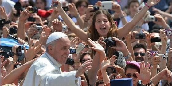 El Papa, con los jóvenes