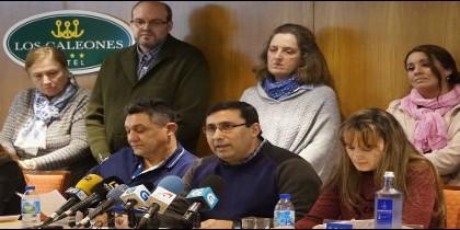 Laicos miguelianos en rueda de prensa