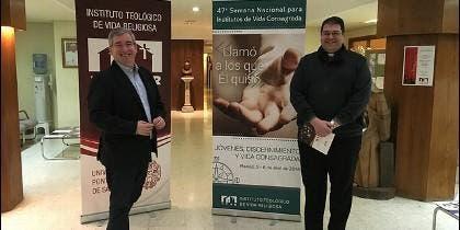Carlos Martínez Oliveras y Fernando Prado, en el ITVR