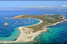 La Isla de Espalmador, frente a Formentera.