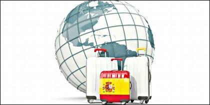 Viaje, turismo, españoles, emigración e inmigración.
