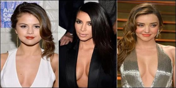 Selena Gomez, Kim Kardashian y Miranda Kerr