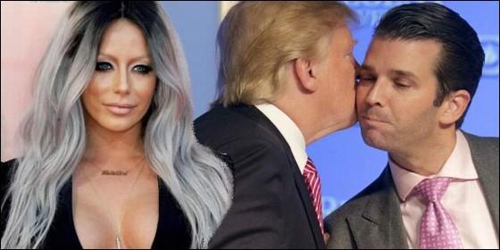 Trump y su hijo