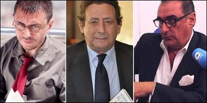Monedero, Ussía y Herrera.