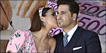 David Bustamante y Lucía Echevarría.