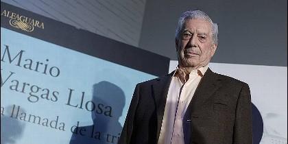 Mario Vargas Llosa presenta su último libro