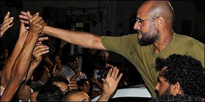 Saif al Islam, hijo de Muammar Gaddafi