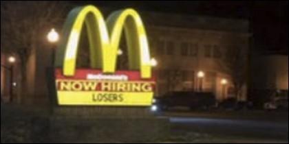 Valla de McDonalds