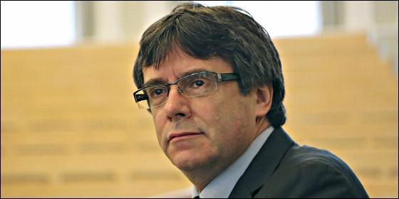 El fugado Carles Puigdemont.
