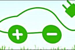 Coche eléctrico y ecológico.