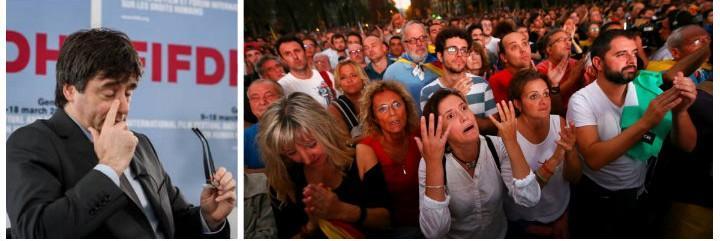Puigdemont vuelve a dejar con los ánimos helados a los fans del golpismo.
