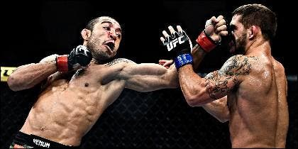 José Aldo, gran campeón de Ultimate Fighting Championship (UFC).
