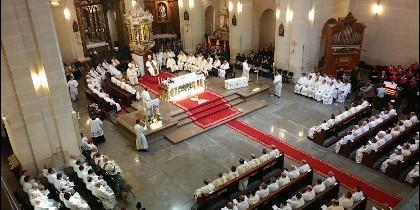 Misa Crismal en la diócesis de Orihuela-Alicante