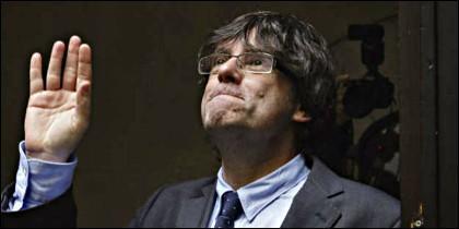 El expresidente autonómico catalán, Carles Puigdemont.